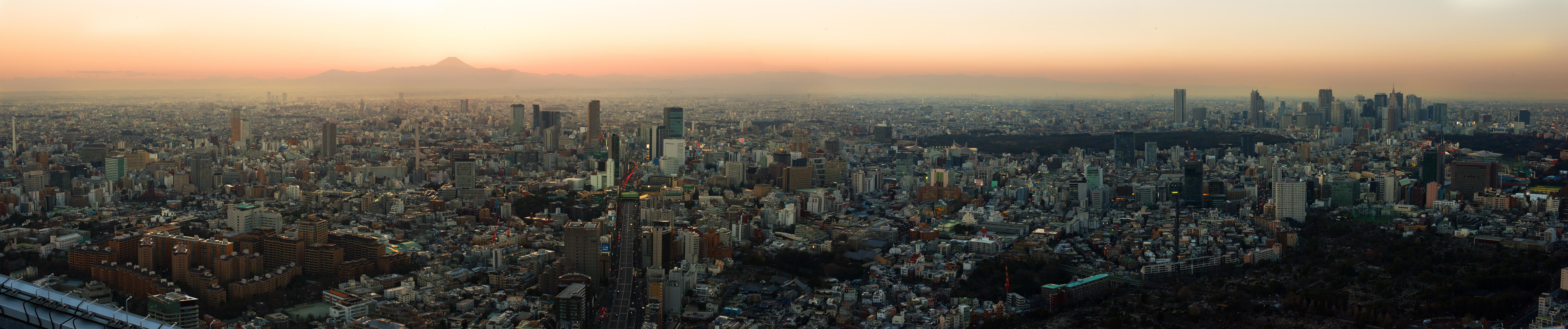 Tokyo Fuji sunset 01 sml
