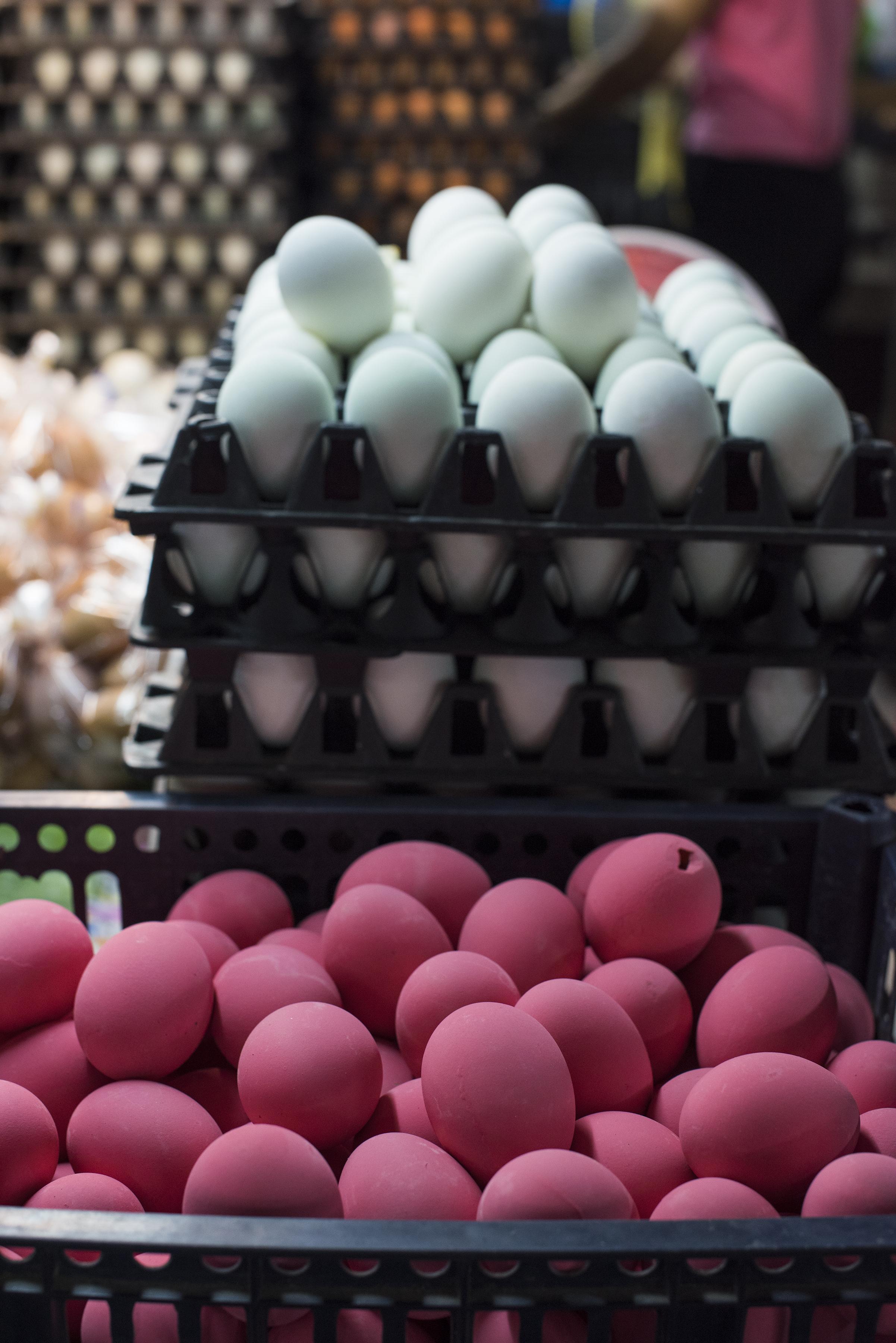 Eggs Thai pink