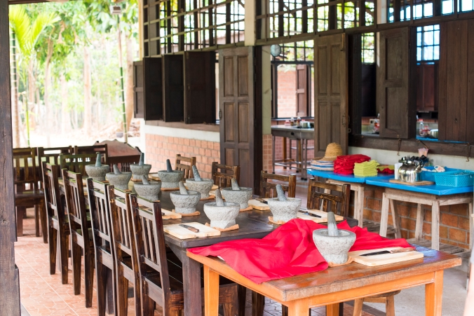 Thai cooking tables