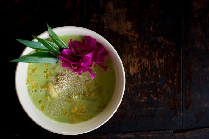Thai dessert bowl