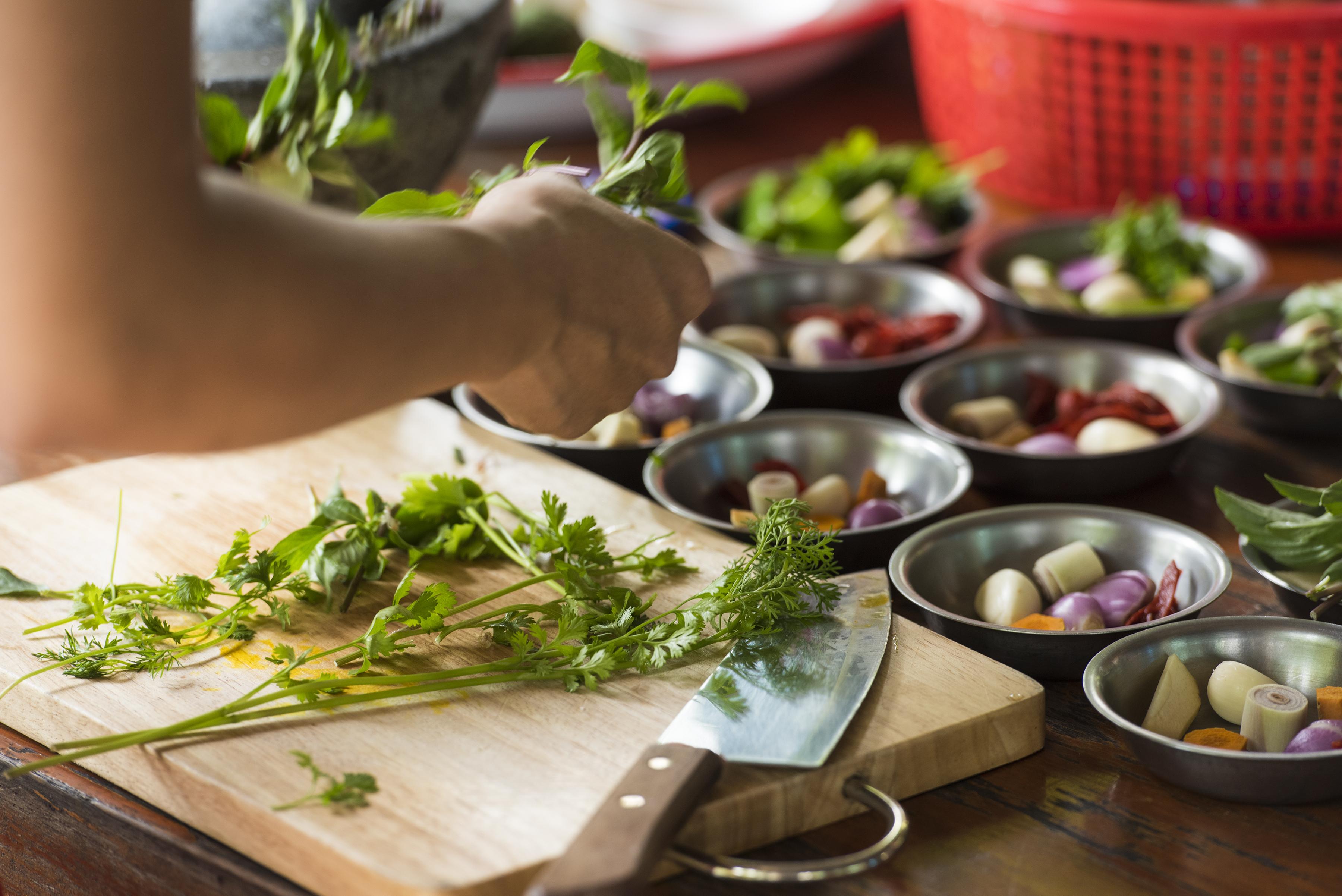 Thai ingredients board