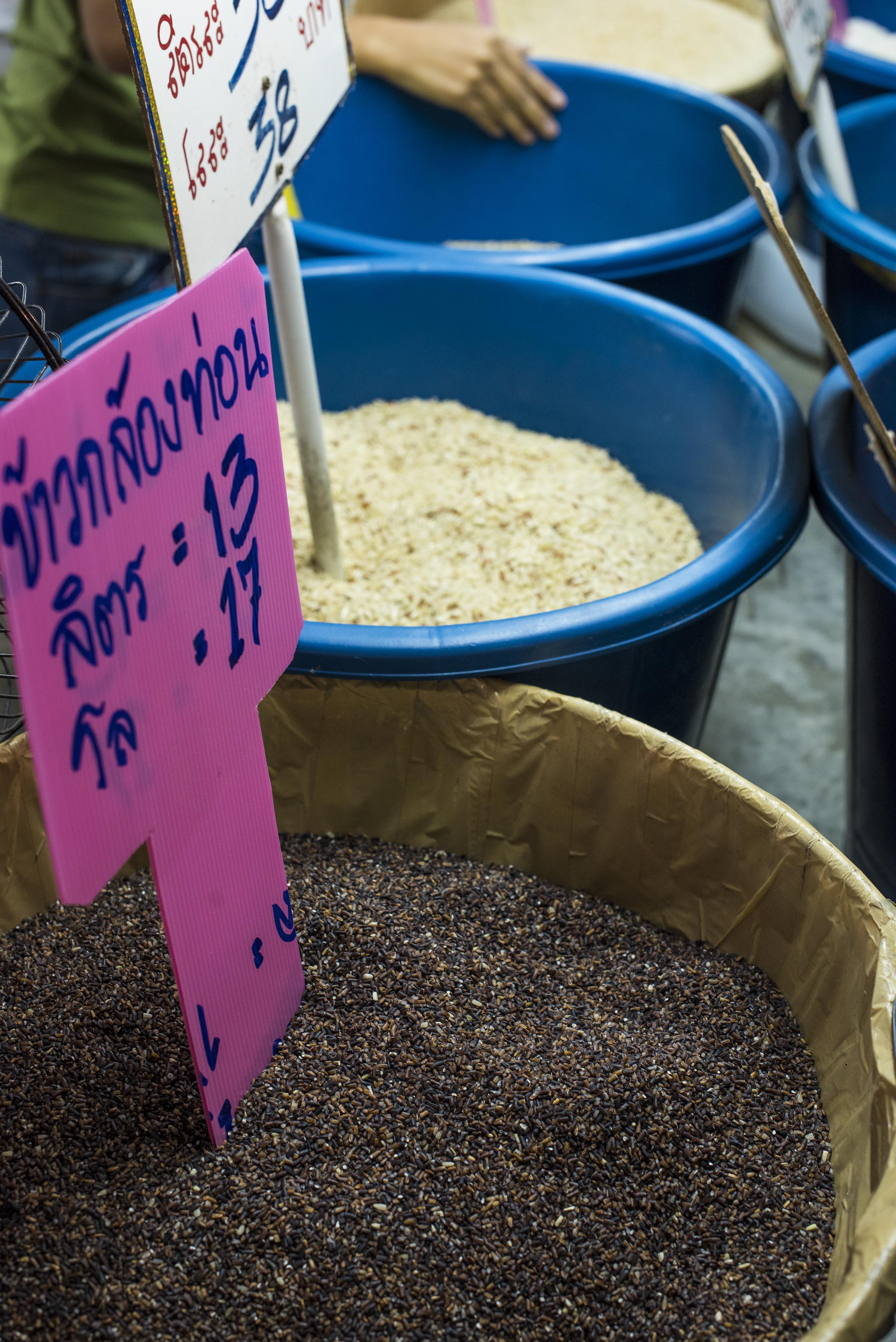 Thai rice market