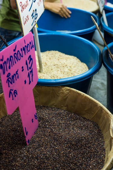 Thai rice market