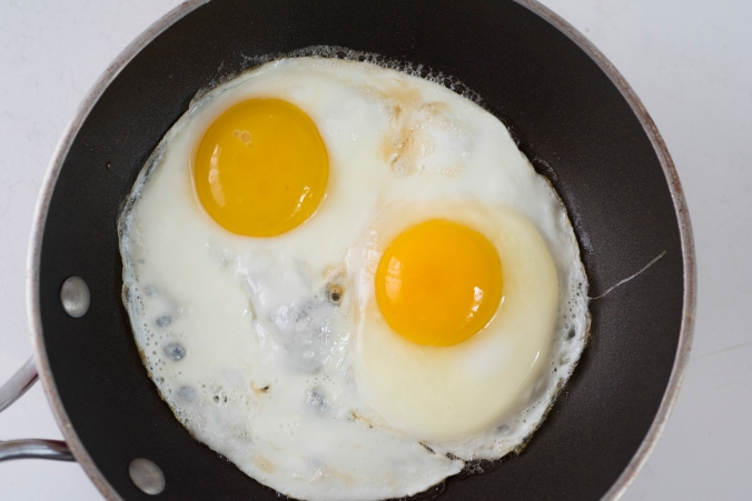 Eggs Frying Pan