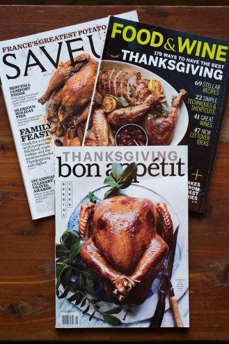 Thanksgiving magazines