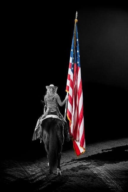 Cowgirl Flag sml